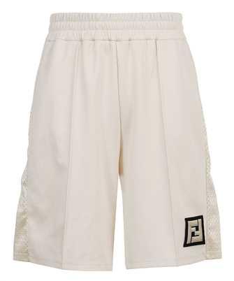 Fendi FAB603 A528 ACTIVE NY MESH Shorts