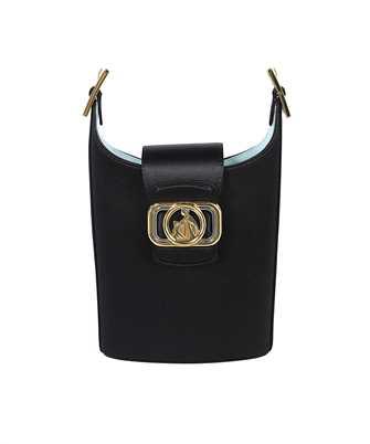 Lanvin LW BGWQ01 RASO P21 SATIN SWAN BUCKET Bag