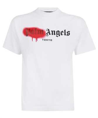 Palm Angels PMAA001S21JER028 TOKYO SPRAYED T-shirt
