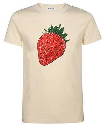 Lanvin RM-JE0011-JU01-P20 STRAWBERRY SCENTED T-shirt