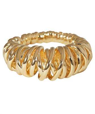Bottega Veneta 649201 VAHU0 SPIRAL DESIGN Ring