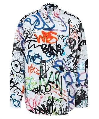 Vetements UE51SH900W ALL-OVER GRAFFITI Shirt
