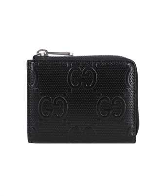 Gucci 657571 1W3AN GG LEATHER ZIP Wallet