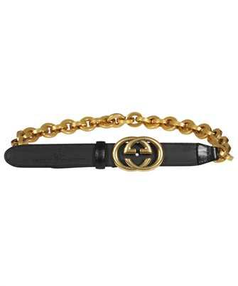 Gucci 657898 0YAQT CHAIN WITH INTERLOCKING G BUCKLE Belt