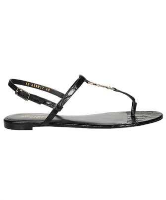 Saint Laurent 659817 2ZEJJ CASSANDRA FLAT Sandals