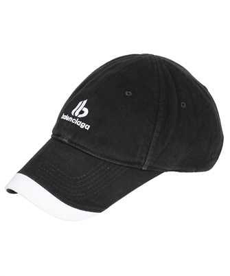 Balenciaga 673323 410B2 DOUBLE B Cap