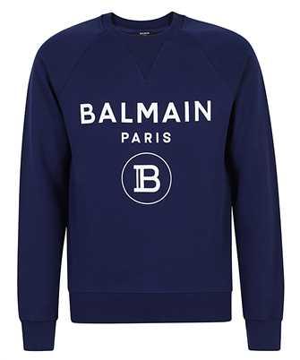 Balmain VH1JQ005B027 PRINTED Sweatshirt