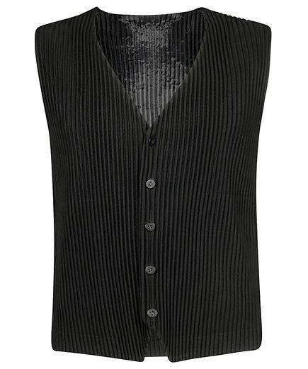 Issey Miyake HP88JE111 Homme Plisse Vest