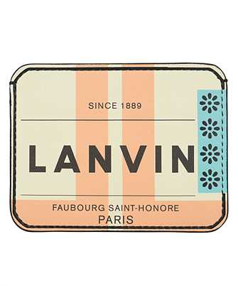 Lanvin LM-SLUW02-TAGJ-E20 PRINT Card holder