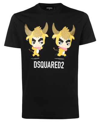 Dsquared2 S74GD0851 S23009 YEAR OF THE HOX T-Shirt