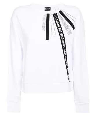 EA7 6KTM12 TJ6PZ GRAPHIC SERIES COTTON CREW NECK Sweatshirt