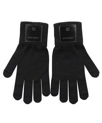 Givenchy BPZ03L P0F1 LOGO PATCH Gloves