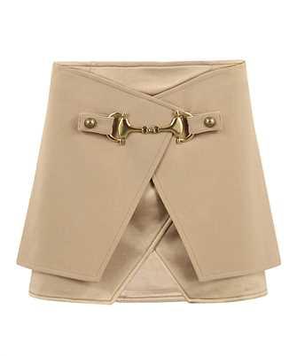 Balmain UF04079V089 HORSEBIT MINI Skirt