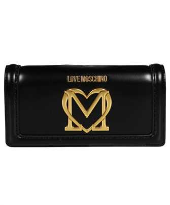 LOVE MOSCHINO JC5637PP0CKK FLAP WITH LOGO Wallet