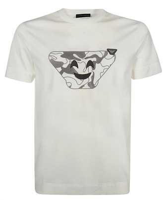 Emporio Armani 3K1TAQ 1JTUZ OVERSIZED CAMOUFLAGE EMOJI T-shirt