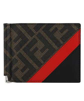 Fendi 7M0281 A9XS MONEY CLIP Wallet