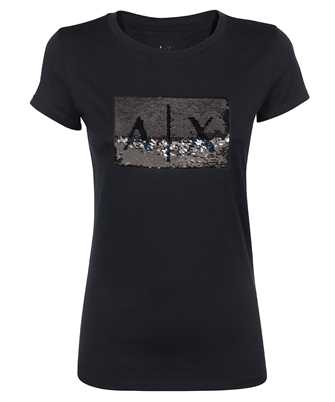 Armani Exchange 8NYTDL YJ73Z SEQUIN LOGO T-shirt