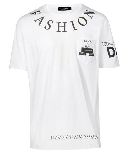 Dolce & Gabbana G8IG6T FH7D7 T-shirt