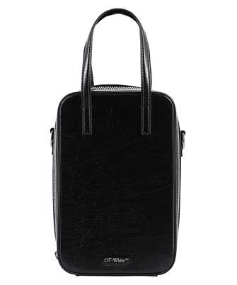 Off-White OMNA129F20LEA001 VINTAGE LEATHER BABY TOTE Tasche