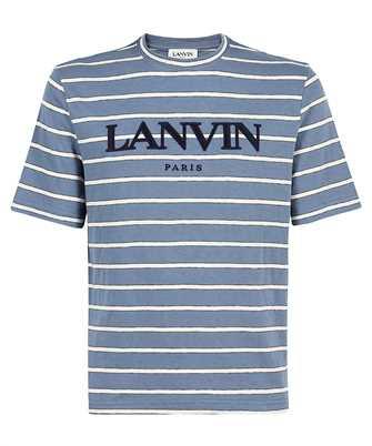 Lanvin RM TS0018 J045 A21 EMBROIDERED STRIPE T-shirt
