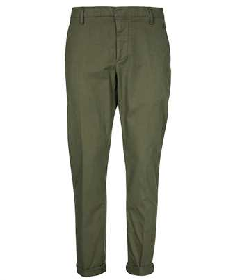 Don Dup UP235 AS0057U PTD MELANGE EFFECT GARMENT DYED Trousers