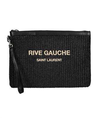 Saint Laurent 581369 2M22E RIVE GAUCHE ZIPPERED Document case