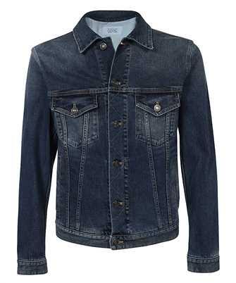 Givenchy BM00PX509X LOGO PRINT BUTTONED DENIM Jacket