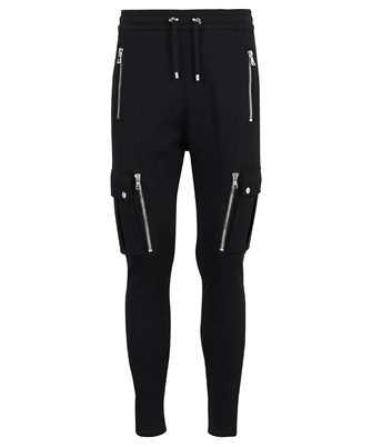 Balmain WH1OB080B137 LOW CROTCH CARGO SWEAT Trousers