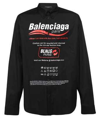 Balenciaga 664626 TEM16 LARGE FIT Shirt