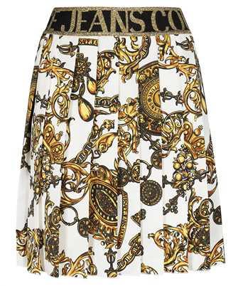 Versace Jeans Couture 71HAE811 NS006 SATIN PRINT BAROQUE BIJOUX Rock