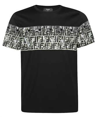 Fendi FAF532 ABTS CAMOUFLAGE T-shirt