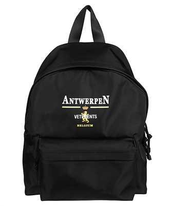 Vetements UE51BA520B ANTWERP LOGO Backpack