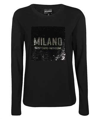 Emporio Armani 3H2T6T 2JQAZ SEQEUIN LOGO T-shirt