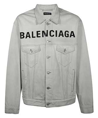 Balenciaga 594424 TGW22 FRONT LOGO DENIM Jacket