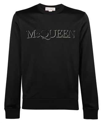 Alexander McQueen 662587 QRZ74 LOGO Felpa