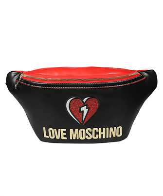 LOVE MOSCHINO JC4254PP0BKJ GLITTER HEART Belt bag