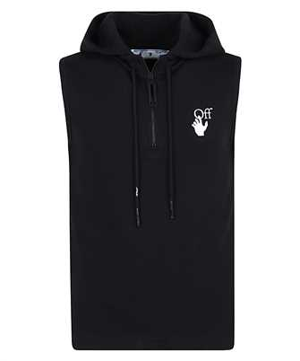 Off-White OMAC010R21FLE001 MARKER TANK Hoodie