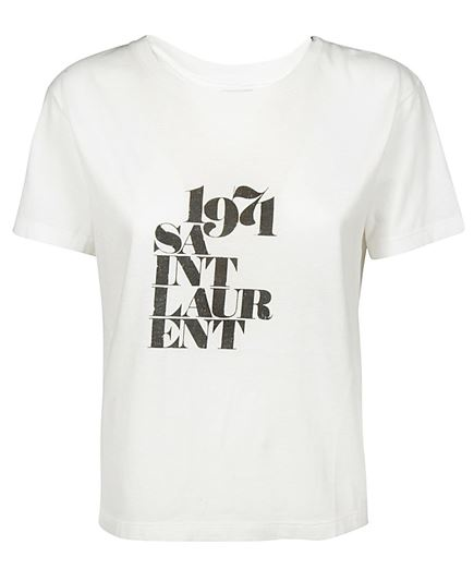 Saint Laurent 529600 YB2VM T-Shirt