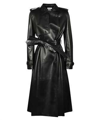 Alexander McQueen 633557 Q5AEG LEATHER Coat