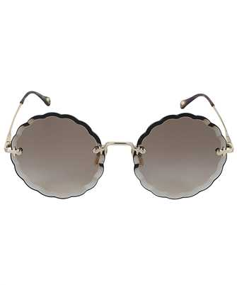 Chloé CH0047S 001 OVAL FRAME Sonnenbrille