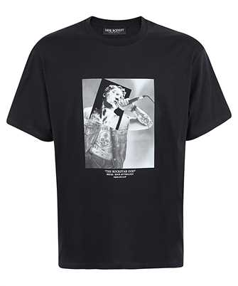 Neil Barrett PBJT816S P531S THE ROCKSTAR GOD NO 57 T-shirt