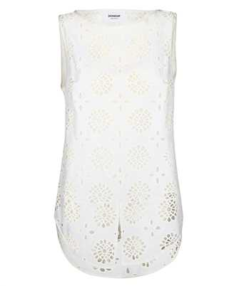 Don Dup DC121 FF0350 XXX BRODERIE Tank top
