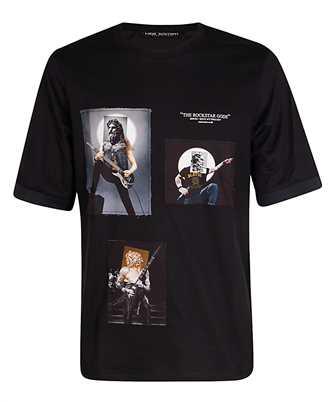 Neil Barrett PBJT804S P523S ROCKSTAR GODS T-shirt