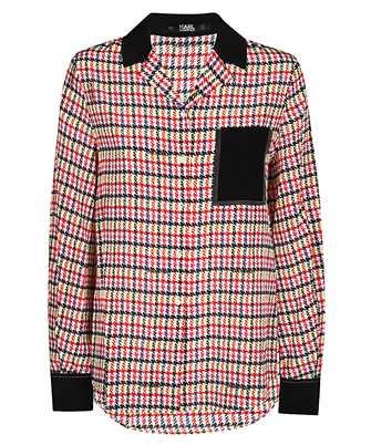 Karl Lagerfeld 201W1607 BOUCLE PRINT Shirt