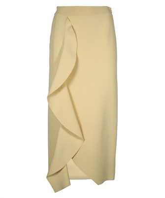Alexander McQueen 659363 Q1ATW ENGIEERED SCULPTED KNIT PENCIL Skirt
