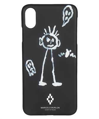 Marcelo Burlon CMPA012E19008042 KID SKETCH I-phone XS MAX cover