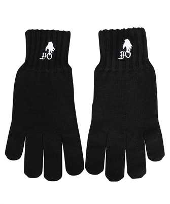 Off-White OMNE032F21KNI001 HAND OFF WOOL Gloves