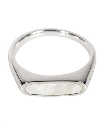 Tom Wood R75BWHM01 MARIO WHITE MOP Ring