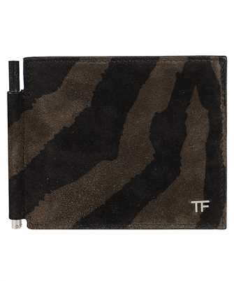 Tom Ford Y0231P-LCL078 ZEBRA SUEDE Wallet