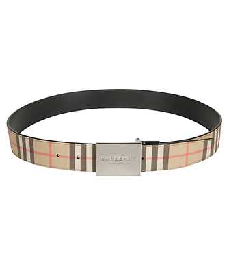 Burberry 8019817 REVERSIBLE PLAQUE LONDON CHECK Belt